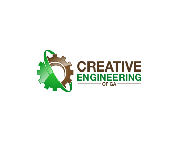 Creative Engineering of GA logo design