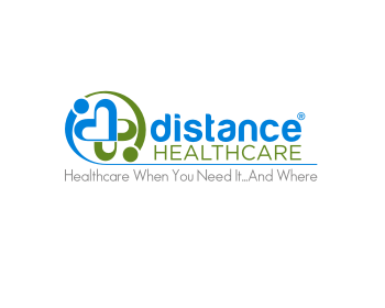 Distance Healthcare logo design