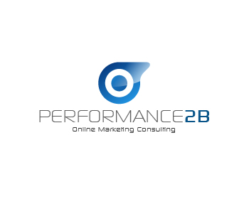 performance2b logo design