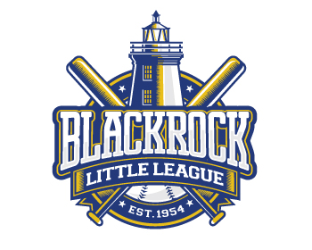 Black Rock Little League logo design