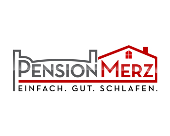 Pension Merz logo design