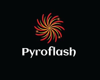 Pyroflash logo design