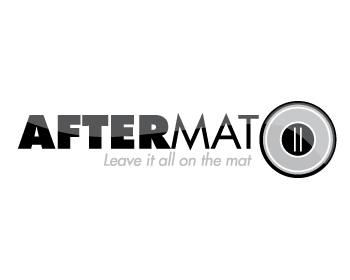 Aftermat logo design