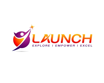 Launch logo design