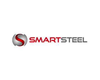 Smart Steel logo design