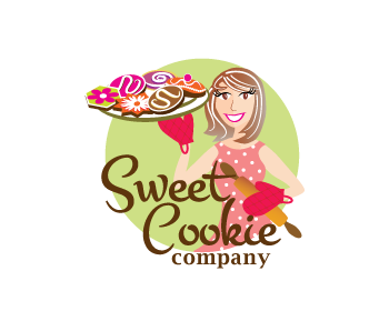 Sweet Cookie Company logo design