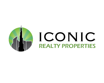 ICONIC REALTY PROPERTIES logo design