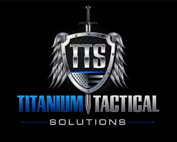 Education logo design for Titanium Tactical Solutions