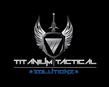 Titanium Tactical Solutions logo design