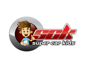 Super Car Kids logo design