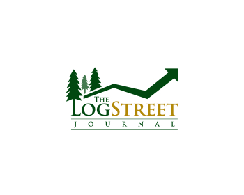 The Log Street Journal logo design