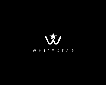 WHITE STAR logo design