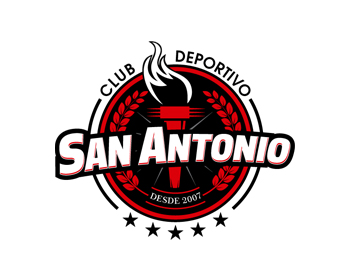 Club Deportivo San Antonio logo design