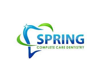 Spring Complete Care Dentistry logo design