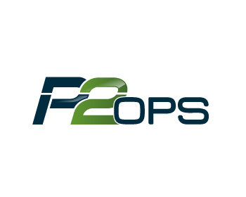 P2 Ops, LLC logo design