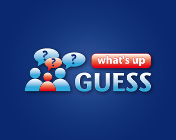 Guess what's up logo design