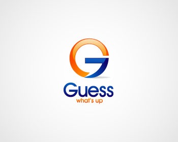 guess what 39 s up logo design contest logo designs by immo0. Black Bedroom Furniture Sets. Home Design Ideas