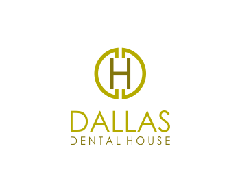 Dallas Dental House logo design