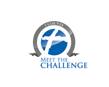 Meet The Challenge logo design