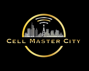 Cell Master City logo design