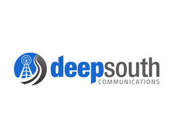Deep South Communications logo design
