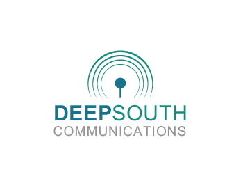 Technology logo design for Deep South Communications