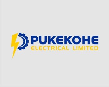 Pukekohe Electrical Limited logo design