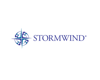 STORMWIND GROUP logo design