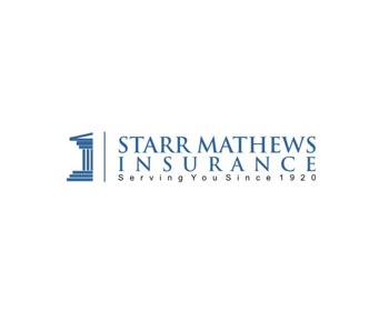 Starr Mathews Insurance logo design