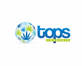 Tops Cannabis logo design