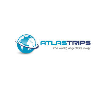 Atlas Trips logo design