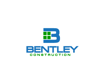 Bentley Construction logo design