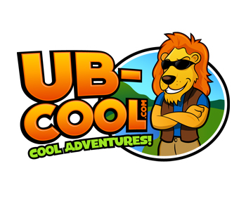 UB-COOL.COM logo design