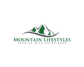 Mountain Lifestyles Property Services logo design