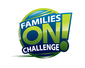 Logo design for Families On! Challenge