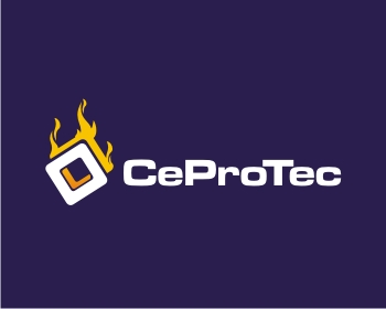 Technology logo design for Ceprotec GmbH