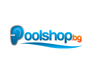 Poolshop.bg logo design