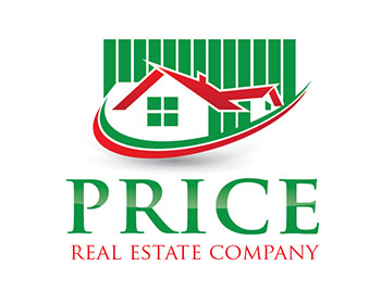Price Real Estate Company logo design