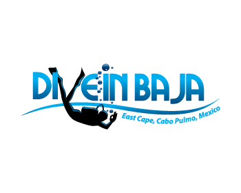 Dive In Baja logo design