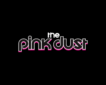The Pink Dust logo design