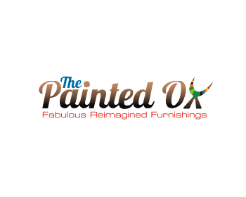 The Painted Ox logo design
