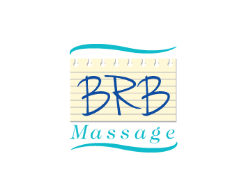 BRB massage logo design