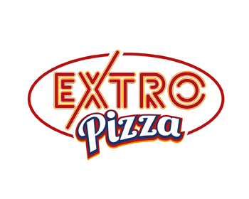 EXTRO Pizza logo design