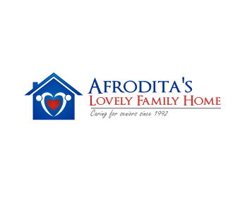Afrodita's Lovely Family Home logo design