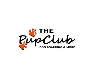 The Pup Club logo design