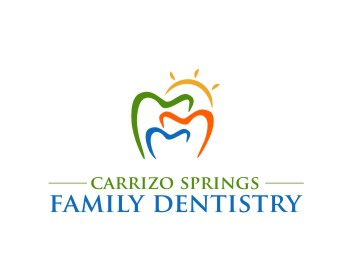 carrizo springs family dentistry logo design