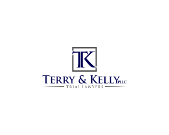 Legal logo design for Terry & Kelly, PLLC
