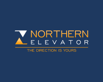 Northern Elevator logo design