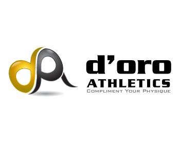 d'oro athletics logo design