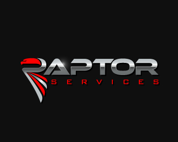 Raptor Services logo design